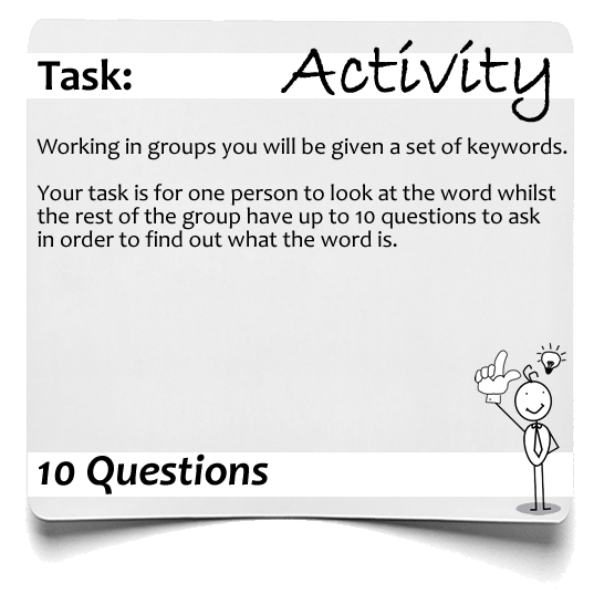 Activity 10 questions 1