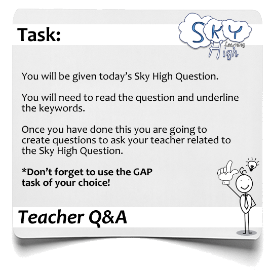 Sky High Teacher QA1