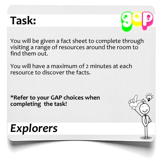 Explorers  GAP