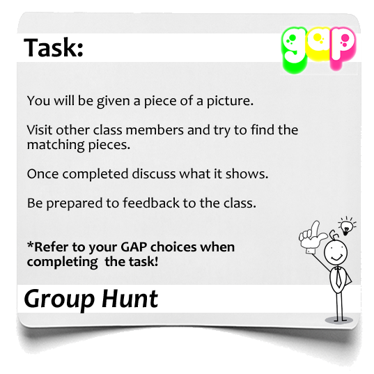 Group Hunt GAP