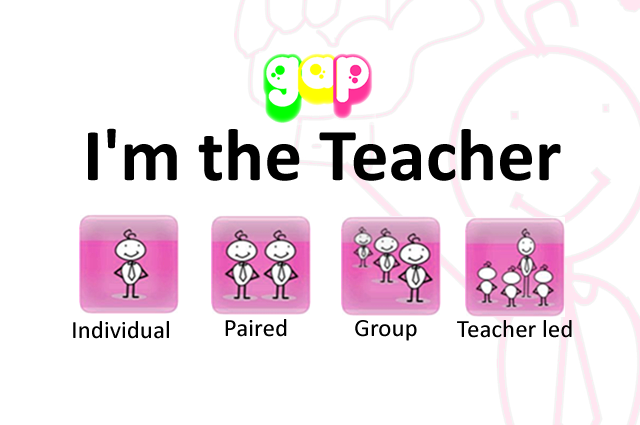 I'm the Teacher GAP