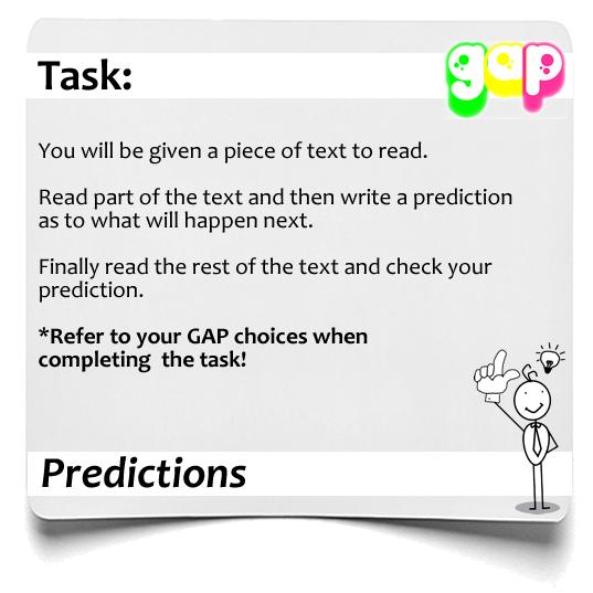 Predictions GAP