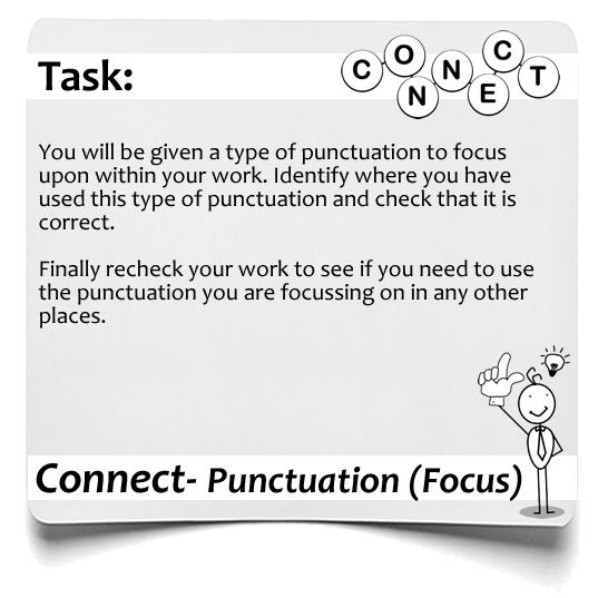 Connect Punctuation Focus