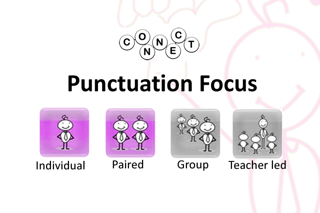 Connect- 'Punctuation Focus'