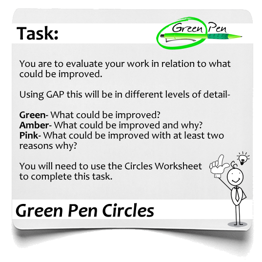 Green Pen Circles