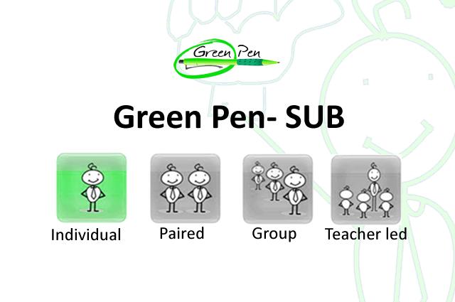 Green Pen- SUB