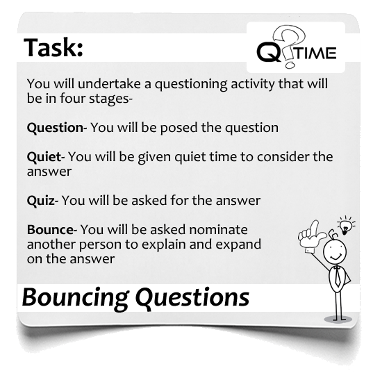 Q Time Bouncing Questions