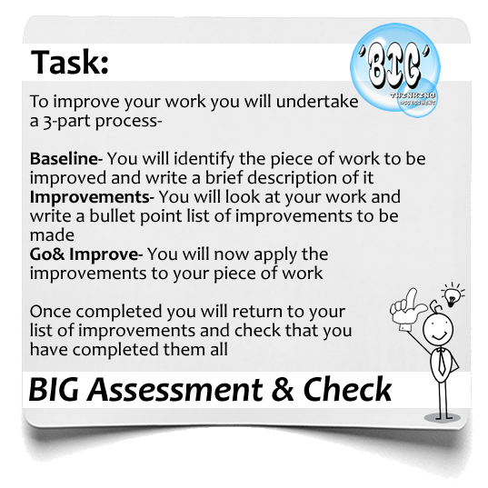 BIG Assessment BIG and check