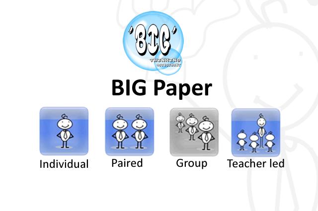 BIG Paper and Green Pen