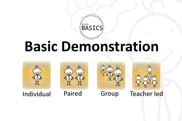 Lesson Basics- Demonstration