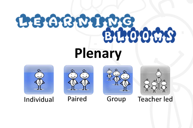 Learning Blooms- Plenary