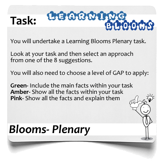 Learning Blooms Plenary