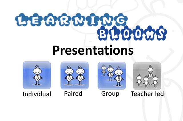 Blooms- Presentations