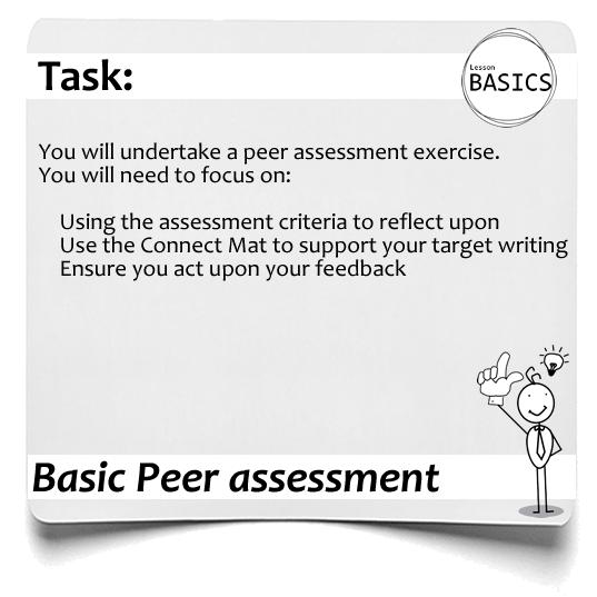 Lesson Basics Peer assessment