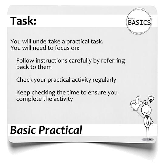 Lesson Basics Practical