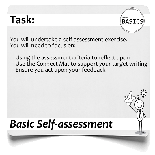 Lesson Basics Self assessment