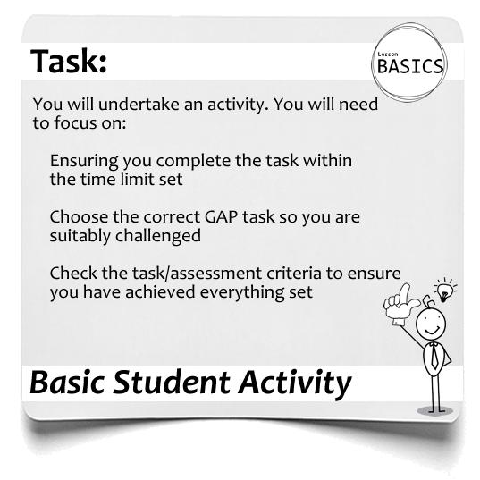 Lesson Basics Student Activity