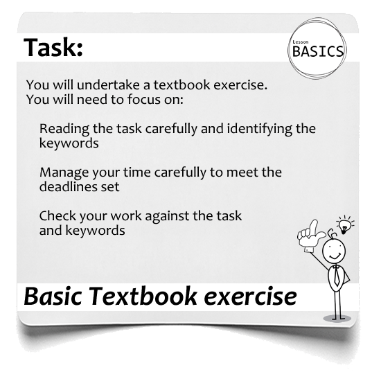 Lesson Basics textbook