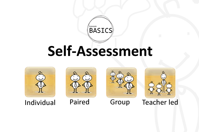 Lesson Basics- Self-Assessment