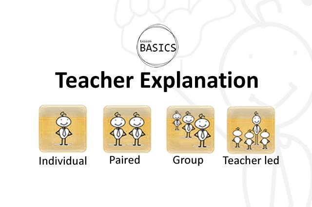 Lesson Basics- Explanation