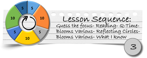 Lesson 3 info
