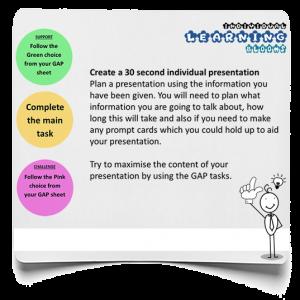 30 second presentation infographic