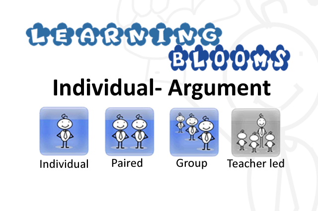 Individual Blooms Argument
