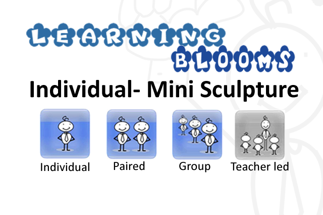 Ind Blooms Mini Sculpture