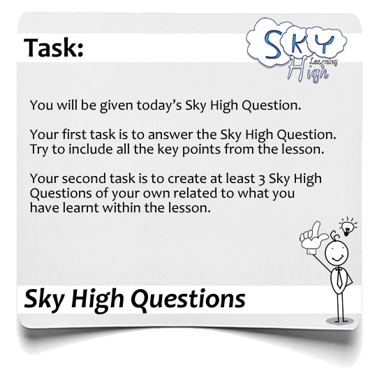 Sky High Question Questions