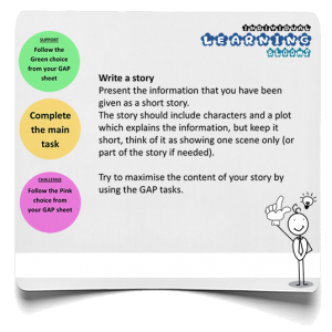 Story infographic