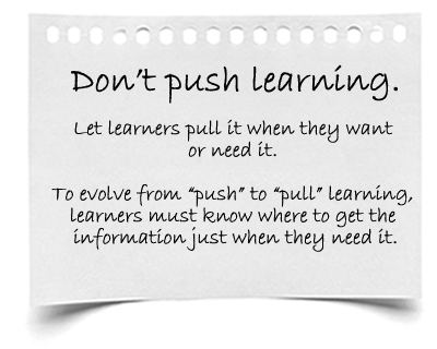 Pull learning