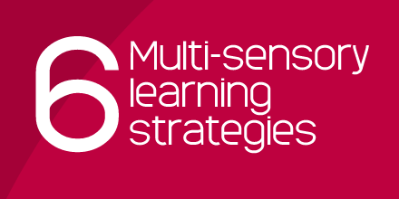 6 multi sensory strategies
