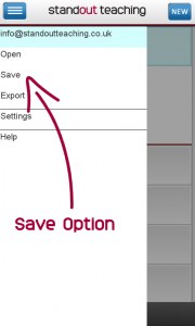 save-option